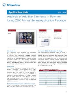 XRF application note XRF1069