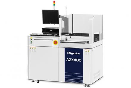 AZX 400 wavelength dispersive XRF for large samples